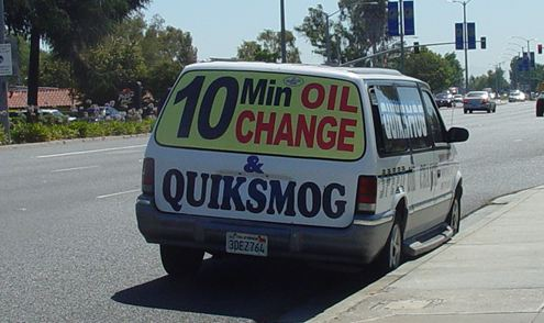 smog test center